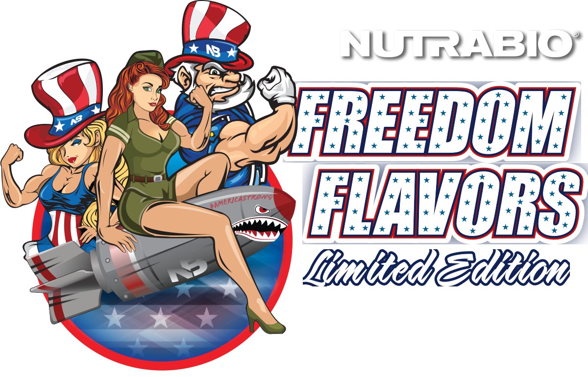 NutraBio Freedom Flavors - Limited Edition