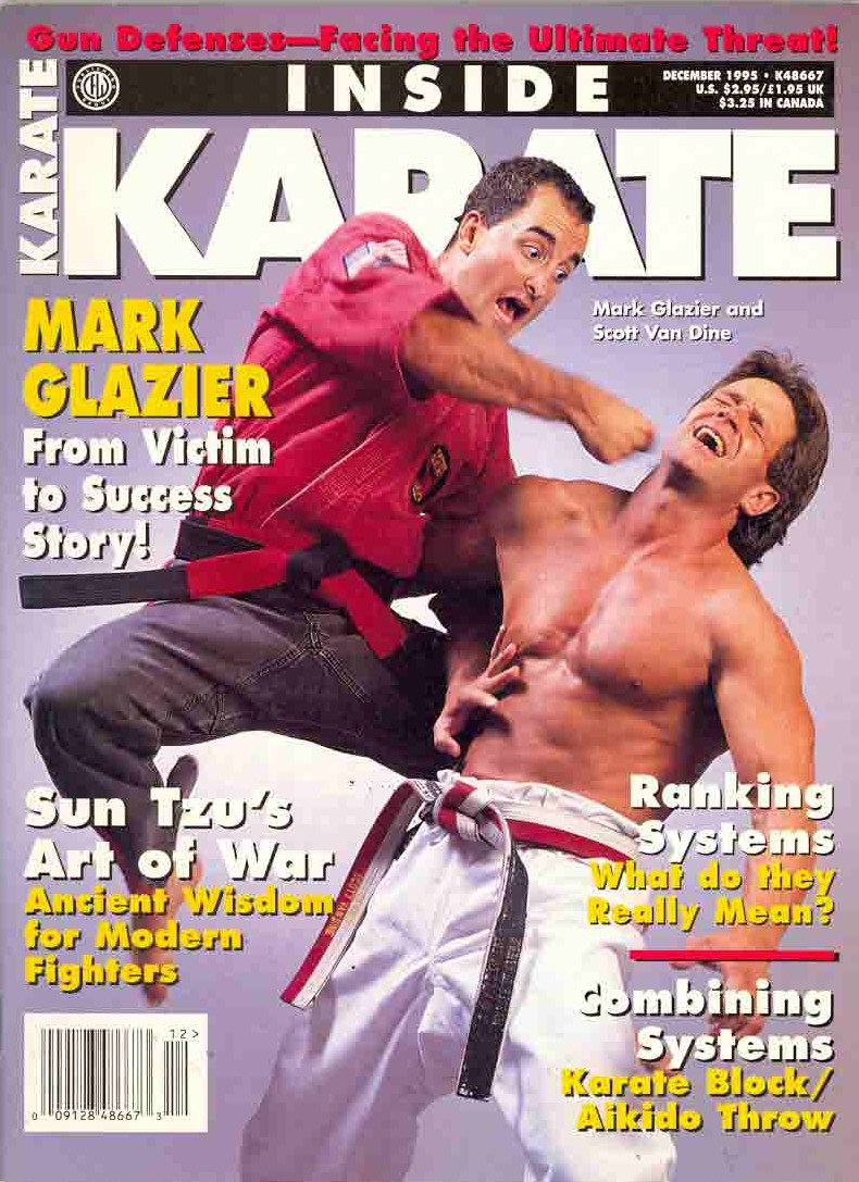 Mark Glazier - Inside Karate Magazine Cover 1995