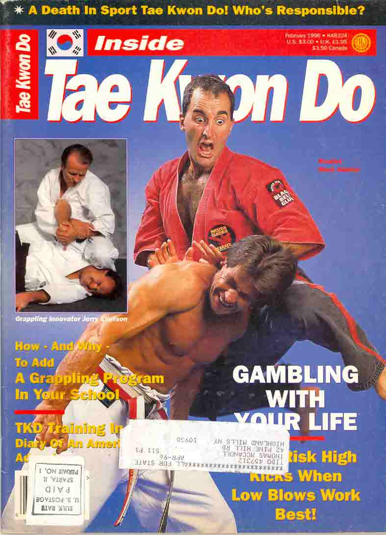 Mark Glazier - Inside Tae Kwon Do_Magazine Cover 1996