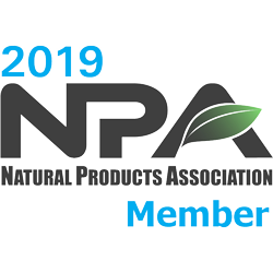 2019 Natural Products Accociation Member
