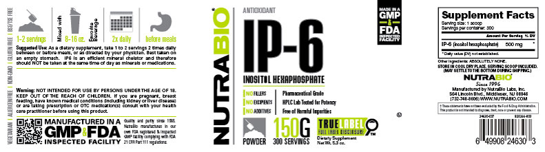 Label Image for IP-6 - 150 Grams