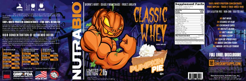 Label Image for Classic Whey Protein (WPC80) - 2 lb