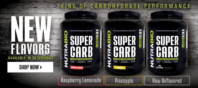 New Flavors of Super Carb Available!