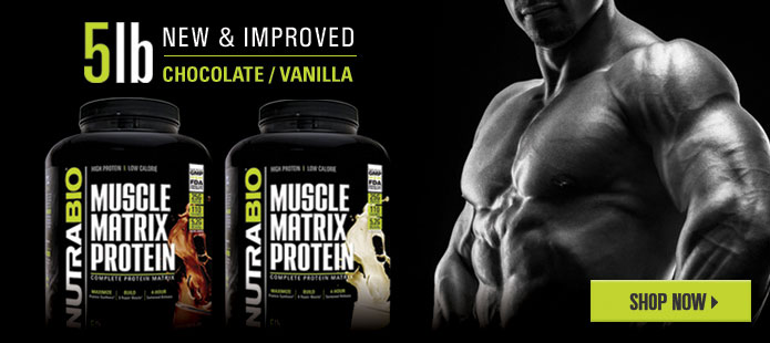 Muscle Matrix, now available in 5lbs!