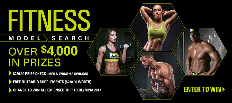 NutraBio Fitness Model Search