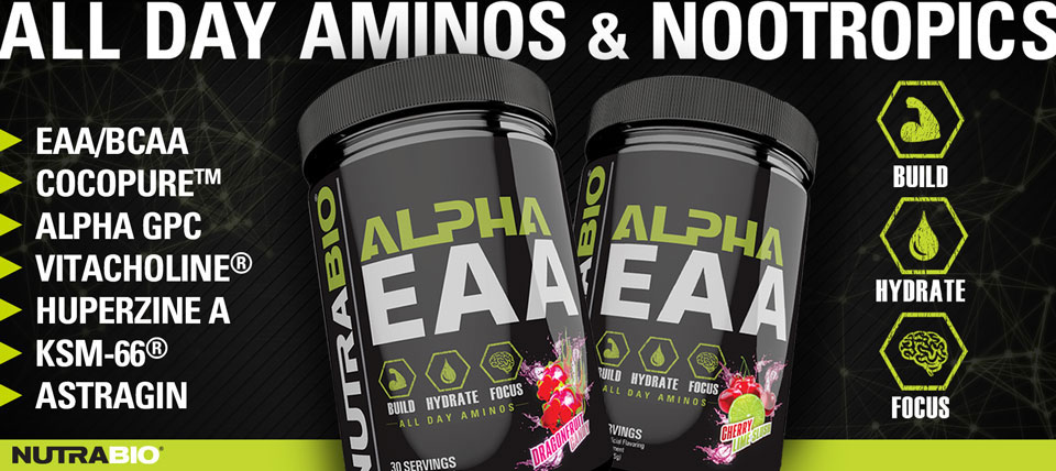 NutraBio AEAA now available!