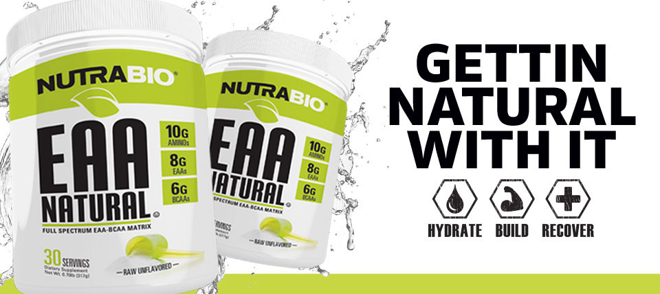 NutraBio EAA Natural now available!