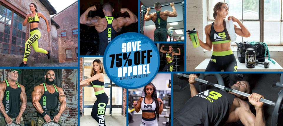 Apparel, 60% Off while supplies last!