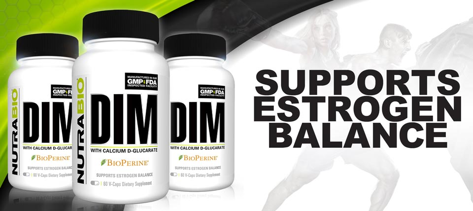 New! DIM with Calcium D-Glucarate!