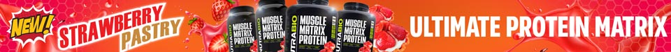 New! Strawberry Pastry flavored Muscle Matrix!