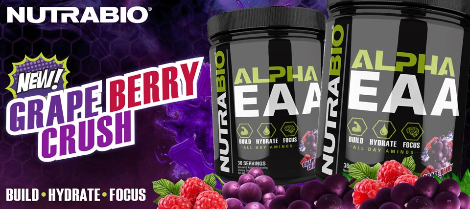 New! Grape Berry Crush Alpha EAA!