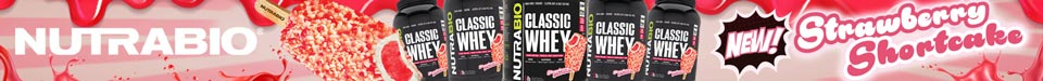 New! Classic Whey Strawberry Shortcake!