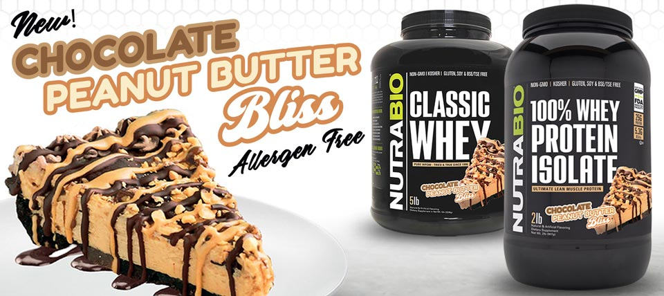 New! Chocolate Peanut Butter Bliss Protein!