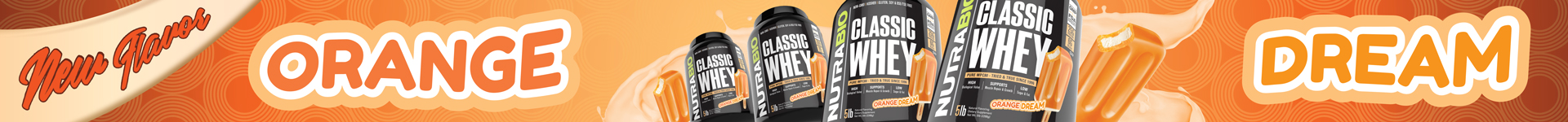 New! Classic Whey Orange Dream!