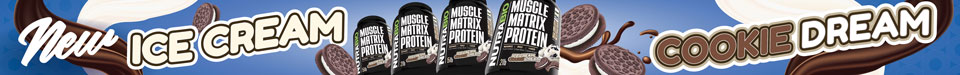 New! Muscle Matrix Ice Cream Cookie Dream!