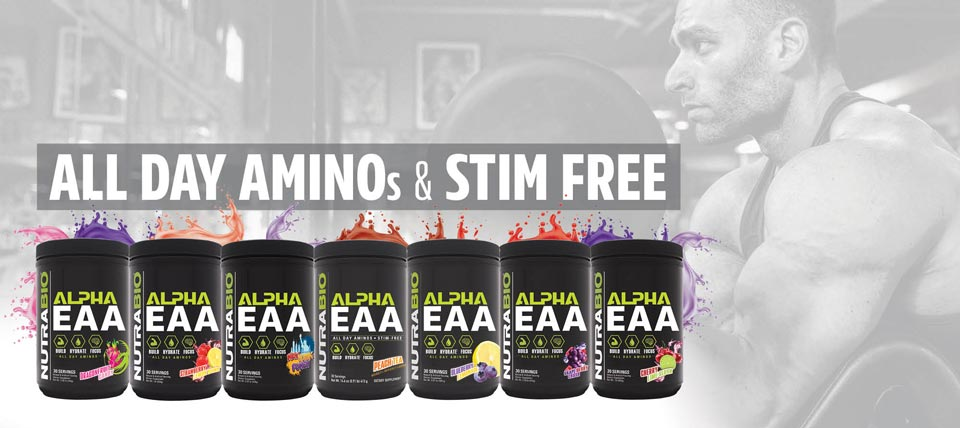 Alpha EAA for all day aminos and nootropics!
