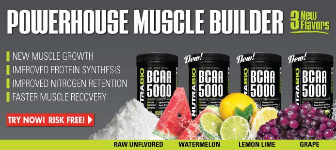 BCAA 5000 - Available in 3 Flavors!