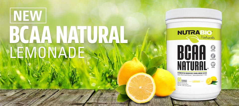 Natural BCAAs Available!