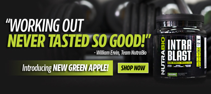 Intra Blast! Now available in Green Apple!