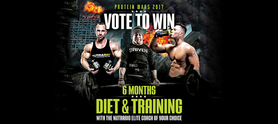 Vote for NutraBio in the Protein Wars!