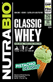 NutraBio Classic Whey To-Go Pack (Pistachio Delight)