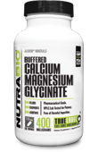 Buffered Calcium Magnesium Glycinate - 120 Capsules