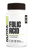 Folic Acid (800 mcg) - 120 V-Caps