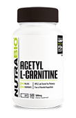 Acetyl L-Carnitine (500mg) - 500 Vegetable Capsules