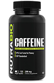 Caffeine (200mg) - 150 Vegetable Capsules