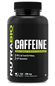 Caffeine (200mg) - 500 Vegetable Capsules