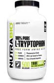 Tryptophan (500mg) - 500 Vegetable Capsules