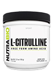 NutraBio Citrulline Powder - 150 Grams