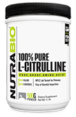 NutraBio Citrulline Powder - 500 Grams