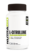 NutraBio Citrulline (500 mg) - 150 Vegetable Capsules