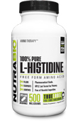 Histidine (500mg) - 240 Vegetable Capsules