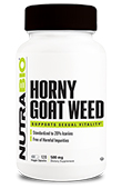 Horny Goat Weed (500mg) - 120 Vegetable Capsules