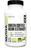 Green Coffee Bean Extract (800mg) - 90 Vegetable Capsules
