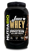 NutraBio Java Whey Protein - 2 Pounds