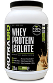 Whey Protein Isolate Natural - 2 lbs (Horchata)