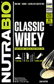 NutraBio Classic Whey Protein - To-Go Pack (Cake Batter)