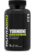 Yohimbine HCL (3mg) - 90 Vegetable Capsules