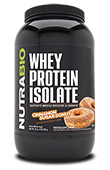 NutraBio Whey Protein Isolate - 2 Pounds