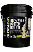 Whey Protein Isolate - 15 Lbs