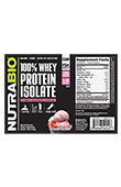 Whey Protein Isolate - To-Go Pack (Strawberry)
