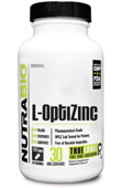 L-OptiZinc (30mg) - 120 Vegetable Capsules