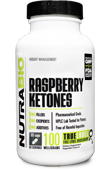 Pure Raspberry Ketones (100mg) - 60 Vegetable Capsules