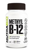 Methyl B-12 (2000mcg) - 120 Vegetable Capsules