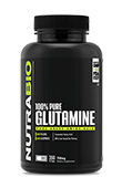 Glutamine (750mg) - 360 Vegetable Capsules