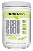 NutraBio BCAA Natural Powder - 60 Servings