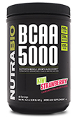 NutraBio BCAA 5000 Powder - 400 Grams